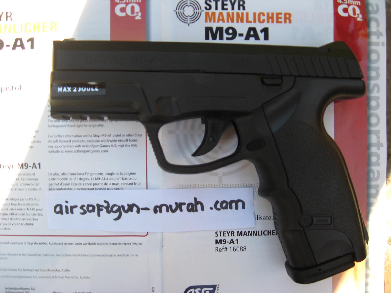 Airgun Murah Revolver Mimis / Pellet Cal 4,5mm